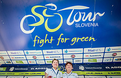 Sonja Gole and Mojca Novak after the last Stage 4 of 24th Tour of Slovenia 2017 / Tour de Slovenie from Rogaska Slatina to Novo mesto (158,2 km) cycling race on June 18, 2017 in Slovenia. Photo by Vid Ponikvar / Sportida