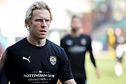 Goalscorer Notts County forward Craig Mackail-Smith (28) before the EFL Sky Bet League 2 match between Notts County and Mansfield Town at Meadow Lane, Nottingham, England on 16 February 2019.