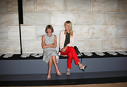 Anna Wintour and Maria Sharapova, two of the first guests to arrive at the Victoria Beckham show New York Fashion Week for Spring/ Summer 2013 , Sunday 9th September 2012. Photo by: Stephen Lock / i-Images