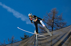 Eetu Nousiainen (FIN) during the Qualification Round of the Ski Flying Hill Individual Competition at Day 1 of FIS Ski Jumping World Cup Final 2019, on March 21, 2019 in Planica, Slovenia. Photo by Masa Kraljic / Sportida