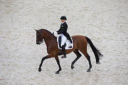 Lyndal Oatley, (AUS), Sandro Boy 9 - Grand Prix Team Competition Dressage - Alltech FEI World Equestrian Games™ 2014 - Normandy, France.<br /> © Hippo Foto Team - Leanjo de Koster<br /> 25/06/14