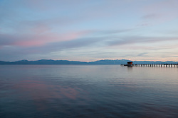 """""""Sunset at Lake Tahoe 14"""" - This sunset was photographed from Commons Beach in Tahoe City, CA."""