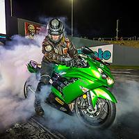 Rob Good smoking it up on the #Ninja at #PerthMotorplex #WhoopAssWednesday