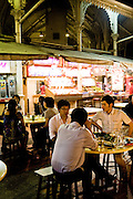 Lau Pa Sat Festival Pavillion food center