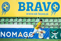 Ante Vrljicak of NK Bravo during football match between NK Triglav and NK Bravo in 8th Round of Prva liga Telekom Slovenije 2019/20, on August 30, 2019 in Sport park ZAK, Ljubljana, Slovenia. Photo by Grega Valancic / Sportida