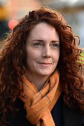 Rebekah Brooks arriving during the third week of the phone hacking trial at the Old Bailey in London, United Kingdom. Thursday, 14th November 2013. Picture by Ben Stevens / i-Images
