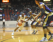 """Ole Miss guard Chris Warren (12) at the C.M. """"Tad"""" Smith Coliseum in Oxford, Miss. on Thursday, December 29, 2010. Ole Miss won 100-62. (AP Photo/Oxford Eagle, Bruce Newman)"""