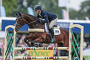 BAYANO ridden by Flora Harris  competing in the show jumping at Bramham International Horse Trials 2016 at  at Bramham Park, Bramham, United Kingdom on 12 June 2016. Photo by Mark P Doherty.