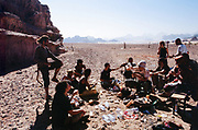 Smoking group, Middle East Tek, Wadi Rum, Jordan, 2008