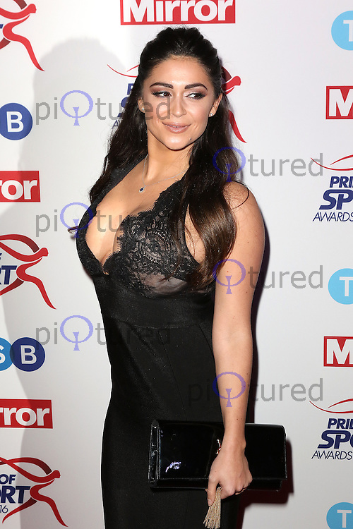 Casey Batchelor, Pride of Sport Awards, Grosvenor House Hotel, London UK, 07 December 2016, Photo by Richard Goldschmidt