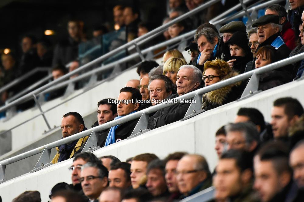 Eric BESSON / Jean Pierre LOUVEL  - 12.12.2014 - Le Havre / Laval - 17eme journee de Ligue 2 <br /> Photo : Fred Porcu / Icon Sport