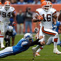 10.23.05 Detroit Lions at Cleveland Browns