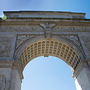 an Image of the Archway at the enterance to Washington Square Park