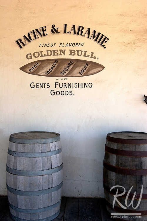 Racine & Laramie Tobacco Shop, Old Town San Diego SHP, California