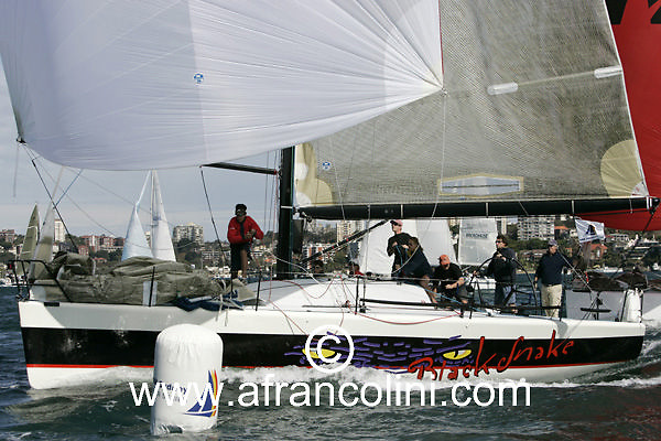 SAILING - BMW Winter Series 2005 - BLACK SNAKE - Sydney (AUS) - 01/05/05 - ph. Andrea Francolini