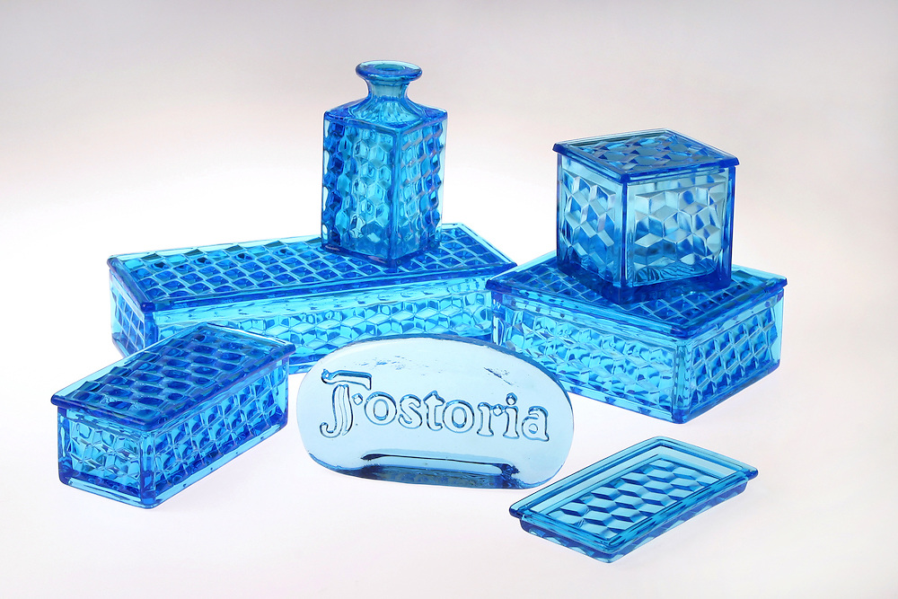 Product Photography, Fostoria Glass Collection