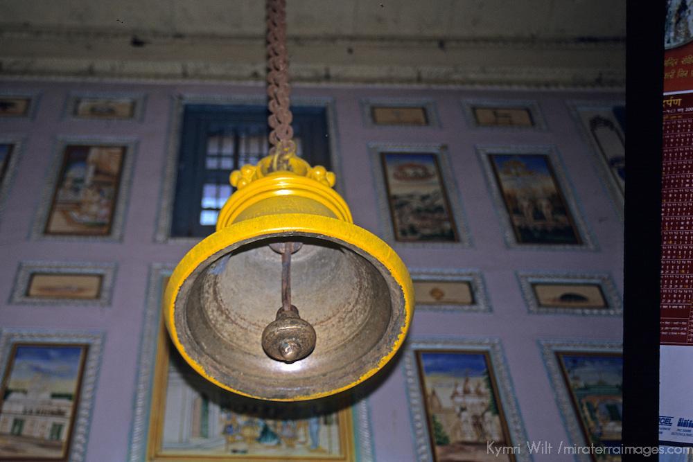 Asia, India, Sarnath. Bell of Jain Temple at Sarnath.