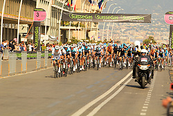 Napoli, Italy - Giro d'Italia - May 4, 2013 - Front of peloton