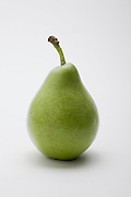 fresh, ripe Pear on white background