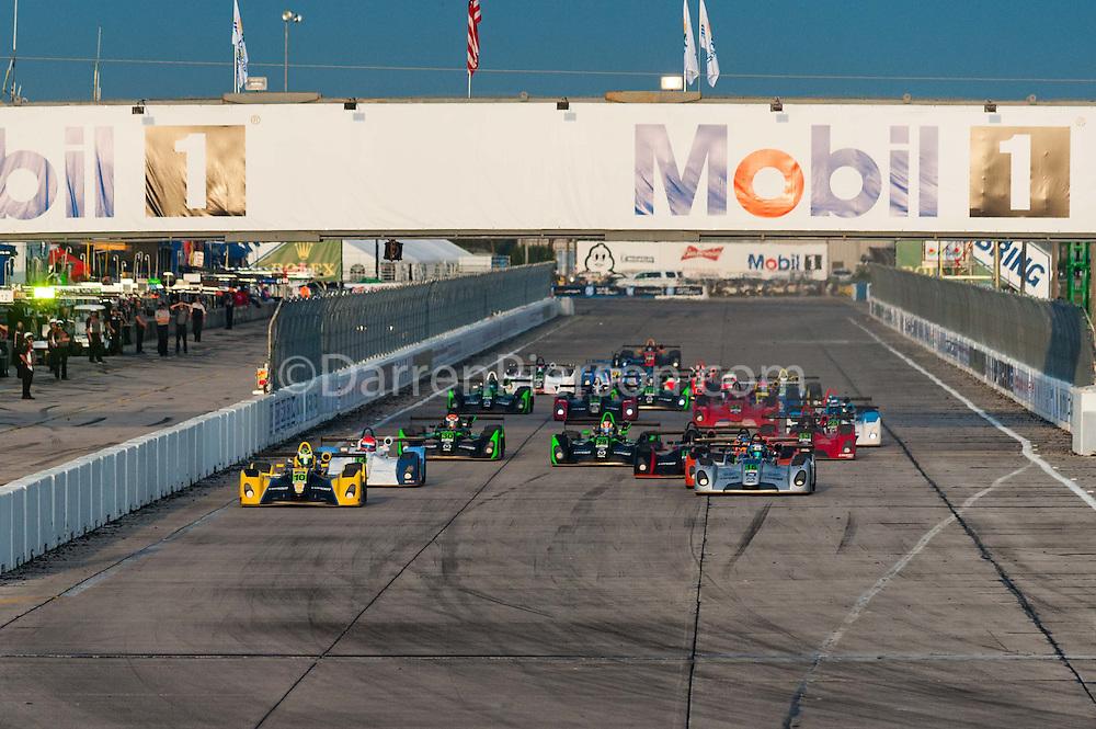 #16 Performance Tech Motorsports Elan DP-02: Patricio O'Ward #10 JDC Motorsports Elan DP-02: Clark Toppe