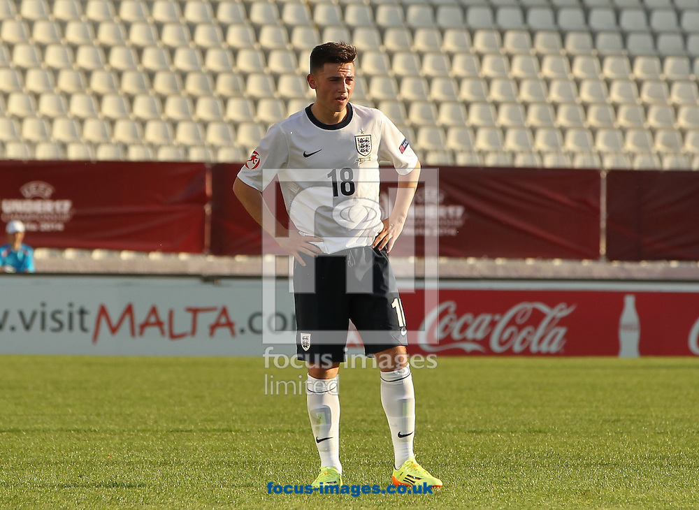 Patrick Roberts of England during the 2014 UEFA European Under-17 match at Ta' Qali National Stadium, Attard<br /> Picture by Tom Smith/Focus Images Ltd 07545141164<br /> 09/05/2014