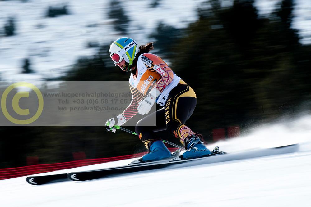 STARKER Alexandra, CAN, Super Combined, 2013 IPC Alpine Skiing World Championships, La Molina, Spain