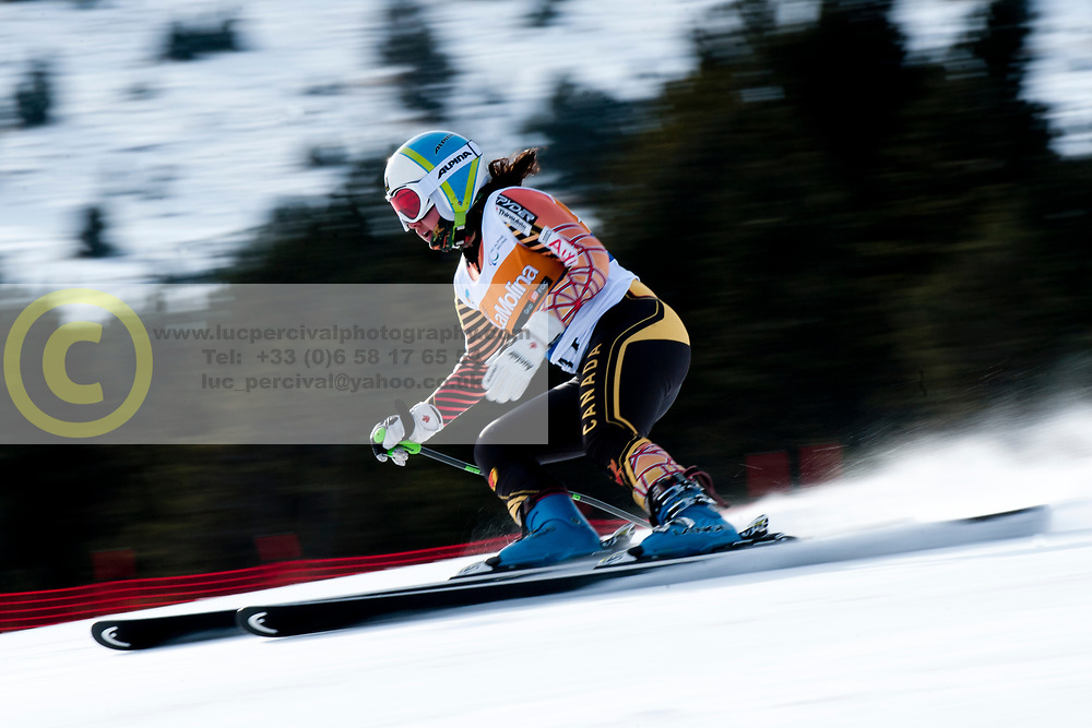STARKER Alexandra, CAN, Super Combined, 2013 IPC Alpine Skiing World Championships, La Molina, Spain