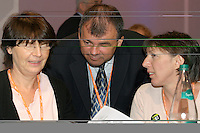 TUC top 3. Kay Carberry, Asst Gen Sec; Brendan Barber, Gen Sec; Frances O'Grady, Dep Gen Sec....© Martin Jenkinson tel 0114 258 6808  mobile 07831 189363 email martin@pressphotos.co.uk  NUJ recommended terms & conditions apply. Copyright Designs & Patents Act 1988. Moral rights asserted credit required. No part of this photo to be stored, reproduced, manipulated or transmitted by any means without prior written permission.