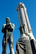 Spanien, Kanarische Inseln, Teneriffa..Santa Cruz, Plaza Espana, Monumento de los Caidos..|..Spain, Canary Islands, Tenerife..Santa Cruz, Plaza Espana, Monumento de los Caidos