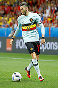Belgium forward Yannick Ferreira Carrasco (11) during the Euro 2016 match between Sweden and Belgium at Stade de Nice, Nice, France on 22 June 2016. Photo by Andy Walter.