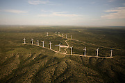 Texas's geography lends the state great potential for wind power and, as a result, Texas produces the most wind power of any U.S. state.  Wind power is responsible for 3.3 percent of the energy used in Texas, and much of its capacity is shipped out of state.  Wind power is one of the largest-growing areas of energy generation in the country.