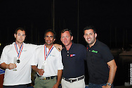Benjamin Bildstein and crew accept the award for 2nd Place at the 49er Nationals in Miami, FL
