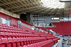 The big screen is installed into Ashton Gate, above the Heineken Bar - Mandatory by-line: Robbie Stephenson/JMP - 15/09/2016 - FOOTBALL - Ashton Gate - Bristol, England - Ashton Gate Development