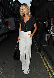 Kimberley Garner attends LFW s/s 2016: PPQ catwalk show at The Vinyl Factory during London Fashion Week. London, UK. 18/09/2015<br />BYLINE MUST READ : GOTCHAIMAGES.COM<br /><br />Copyright by © Gotcha Images Ltd. All rights reserved.<br />Usage of this image is conditional upon the acceptance <br />of Gotcha Images Ltd, terms and conditions available at<br />www.gotchaimages.com