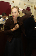 "Kristin Scott Thomas, Motorola Grand Classics at the Electric Cinema on Portobello Road,  The French movie Jean Luc goddard's ""Le Mepris"" was screened during the event. The party was hosted by Kristin Scott Thomas. London. 26 September 2005. ONE TIME USE ONLY - DO NOT ARCHIVE © Copyright Photograph by Dafydd Jones 66 Stockwell Park Rd. London SW9 0DA Tel 020 7733 0108 www.dafjones.com"