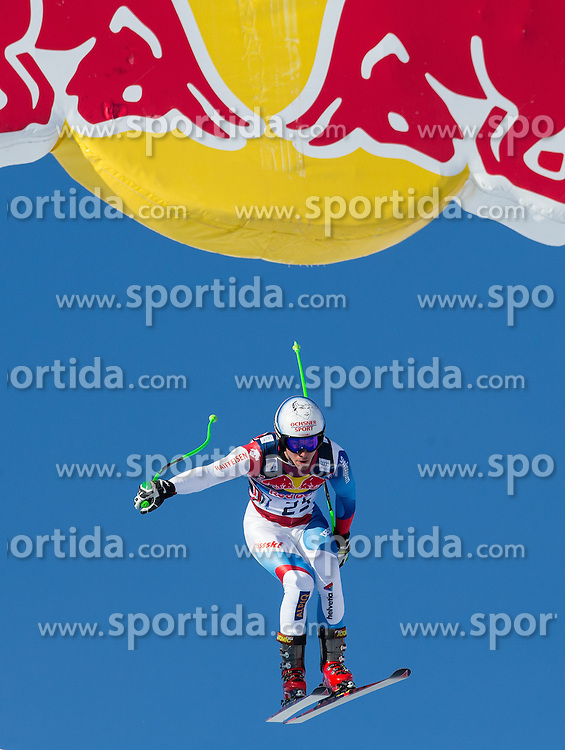 24.01.2013, Streif, Kitzbuehel, AUT, FIS Weltcup Ski Alpin, Abfahrt, Herren, 3. Training, im Bild Carlo Janka (SUI) // Carlo Janka of Switzerland in action during 3th practice of mens Downhill of the FIS Ski Alpine World Cup at the Streif course, Kitzbuehel, Austria on 2013/01/24. EXPA Pictures © 2013, PhotoCredit: EXPA/ Johann Groder