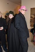 ROBERTA HANLEY; CHRIS HANLEY,  Mandala for Crusoe, Exhibition of work by Francesco Clemente. Blain/Southern. Hanover Sq. London. 29 November 2012