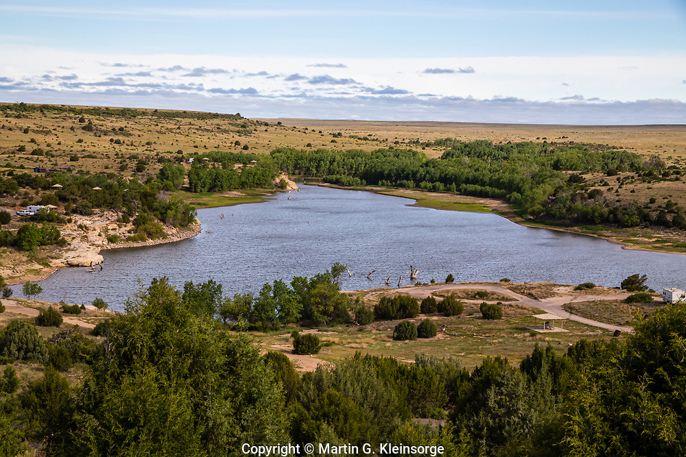 Clayton Lake State Park, New Mexico.