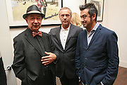 ANDREA MASCOLO; ALAN HOBB; ANTONY MASCOLO Hanging Out. Carinthia West exhibition. The library space, 108  battersea park rd. London. sw11