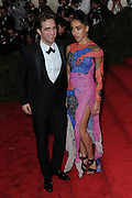 May 5, 2015 - New York, NY, USA - <br /> <br /> Robert Pattinson and FKA twigs attending the Costume Institute Benefit Gala  celebrating the opening of China: Through the Looking Glass at The Metropolitan Museum of Art on May 4, 2015 in New York City <br /> ©Exclusivepix Media