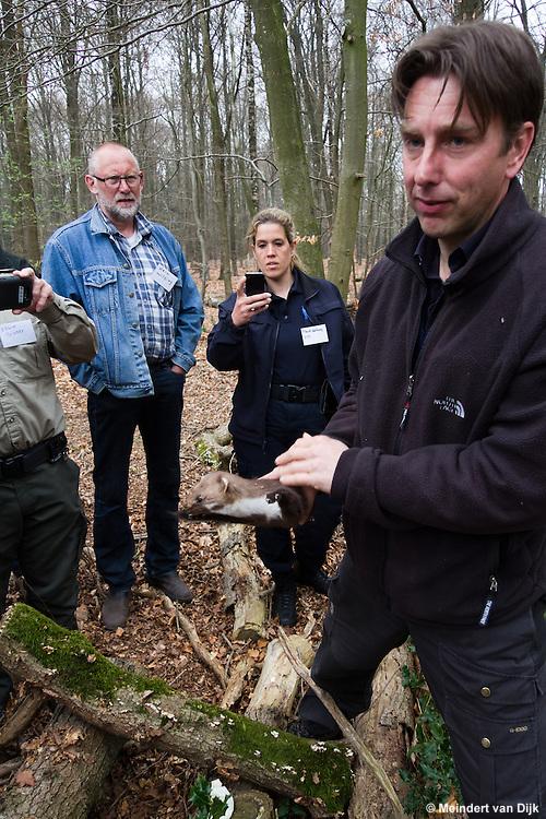 Praktijkdag 'Vervolging wilde fauna', georganiseerd door de Vereniging Politie Dieren- en Milieubescherming.