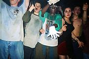 Sci-Fi Glasses, Dream FM Pirate Radio Benefit, Labyrinth Dalston, London, 1994.