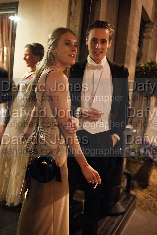 VICTORIA DASHWOOD; ALEX COLERIDGE, The Royal Caledonian Ball 2013. The Great Room, Grosvenor House. Park lane. London. 3 May 2013.