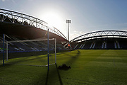 General view of The John Smiths stadium during the EFL Sky Bet Championship match between Huddersfield Town and Brentford at the John Smiths Stadium, Huddersfield, England on 18 January 2020.