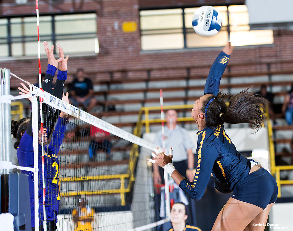 2016 A&T Volleyball vs East Carolina University