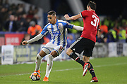 Huddersfield's Abdülhamid Sabiri during the The FA Cup match between Huddersfield Town and Manchester United at the John Smiths Stadium, Huddersfield, England on 17 February 2018. Picture by George Franks.
