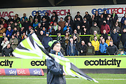 South stand during the EFL Sky Bet League 2 match between Forest Green Rovers and Plymouth Argyle at the New Lawn, Forest Green, United Kingdom on 16 November 2019.