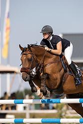 Slagter Amanda, NED, Royal Bleu AD<br /> Nederlands Kampioenschap Springen<br /> De Peelbergen - Kronenberg 2020<br /> © Hippo Foto - Dirk Caremans<br />  06/08/2020