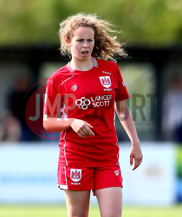 Emily Syme of Bristol City Women - Mandatory by-line: Robbie Stephenson/JMP - 03/06/2017 - FOOTBALL - Stoke Gifford Stadium - Bristol, England - Bristol City Women v Arsenal Ladies - FA Women's Super League Spring Series