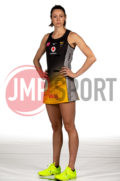 Hannah Knights of Wasps Netball - Mandatory by-line: Robbie Stephenson/JMP - 02/11/2019 - NETBALL - Ricoh Arena - Coventry, England - Wasps Netball Headshots